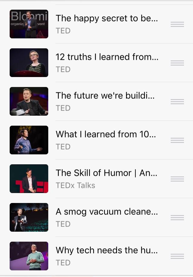 Ted funny talks